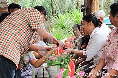 Songkran Festival Editorial Stock Image