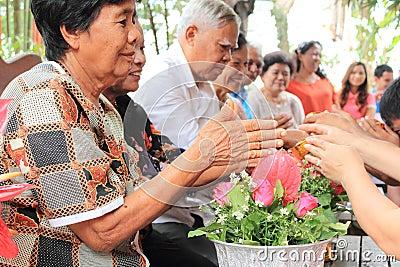 Songkran Festival Editorial Photo
