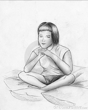 Sonhos ou meditação - esboço