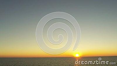 Sonnenuntergang stock video