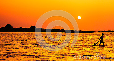 SonnenuntergangStroll