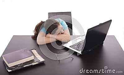 Sonno della ragazza