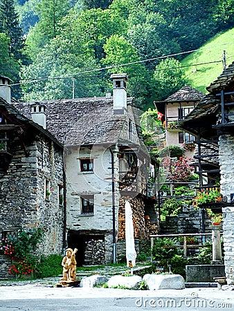 Sonogno - Verzasca-valley