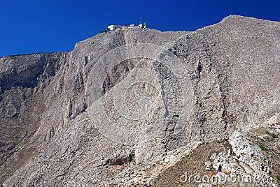 Sontorini highest mountain