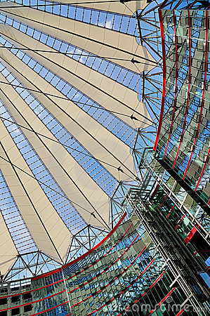 Sony Center, Berlin Editorial Image