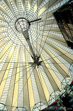Sony Center in Berlin Editorial Photography