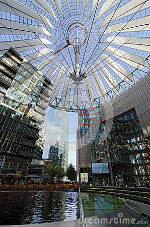 Sony Center. Berlin Editorial Image
