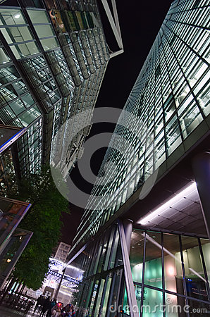 Sony Center in Berlin Editorial Photo