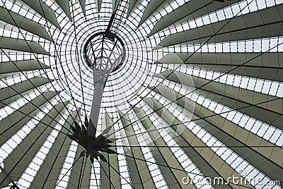 Sony Center roof in Berlin