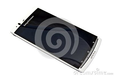 Sony Ericsson smartphone - XPERIA Editorial Stock Photo