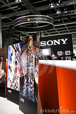 Sony Photography at Photokina 2008 Editorial Photography