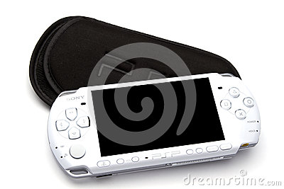 Sony Playstation Portable (PSP) Editorial Stock Image