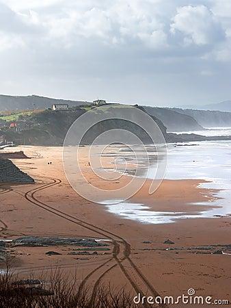 Free Sopelana Beach Royalty Free Stock Images - 29626939