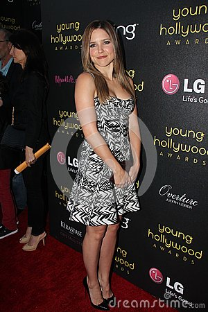 Sophia Bush at the 14th Annual Young Hollywood Awards, Hollywood Athletic Club, Hollywood, CA 06-14-12 Editorial Stock Image