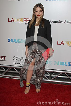 Sophia Bush at the Los Angeles Film Festival Closing Night Gala Premiere  Editorial Stock Photo