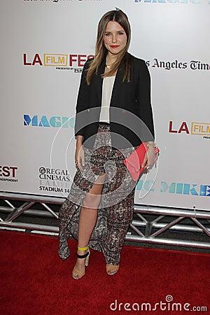 Sophia Bush at the Los Angeles Film Festival Closing Night Gala Premiere Editorial Stock Photo