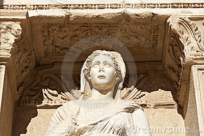 Sophia Goddess of Wisdom Ancient Statue
