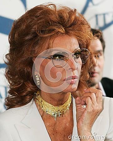 Sophia Loren Editorial Stock Image