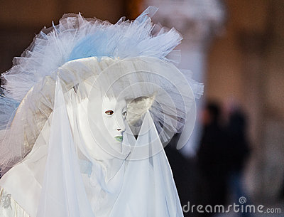 Sophisticated Venetian Disguise Editorial Stock Image