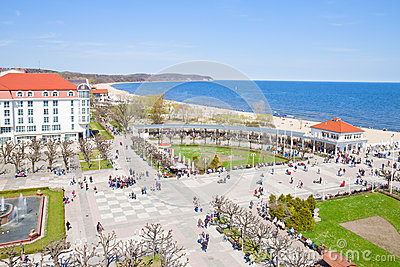 Sopot and Baltic sea coast