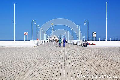 Sopot molo - the longest wooden pier in Europe