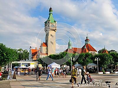 Sopot, Poland Editorial Photography