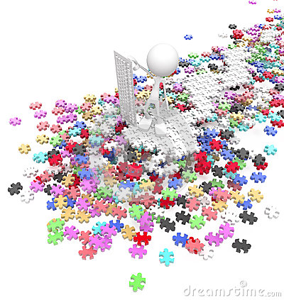 Soprintendente di puzzle del puzzle