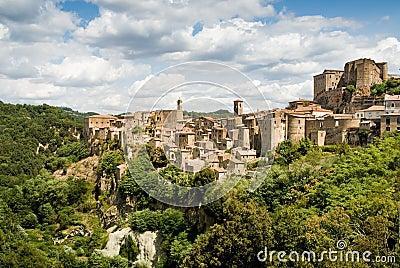 Sorano, tuscan village