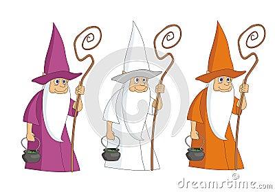 Sorcerer mag with kettle