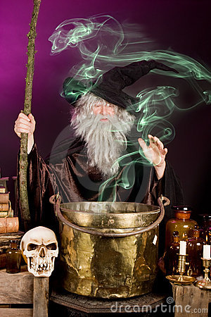 Free Sorcerer S Ghost Royalty Free Stock Photography - 6528377