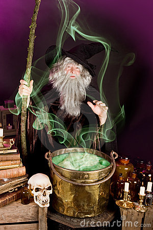 Free Sorcerer S Soup Stock Image - 6335961