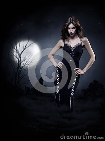 Sorcière de Halloween