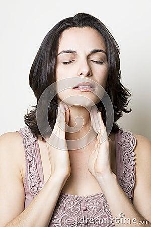 Sore Throat woman