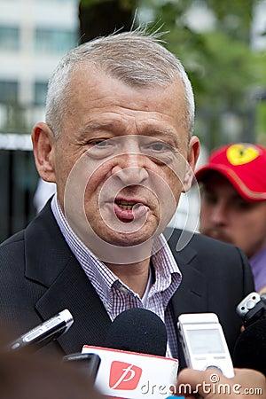 Sorin Oprescu Editorial Stock Photo