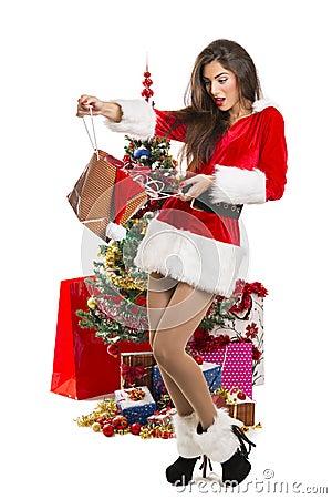 Sorpresas de la navidad imagen de archivo libre de - Sorpresas para navidad ...