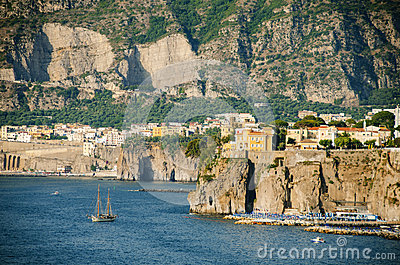 Sorrento Coast Royalty Free Stock Photo - Image: 25867425