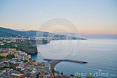Sorrento at dawn