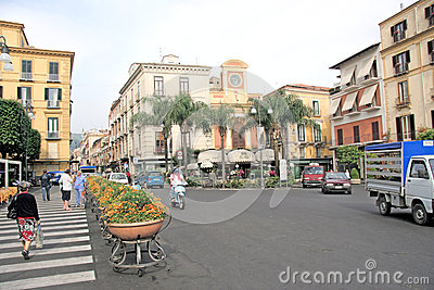 Sorrento Italy Editorial Photo