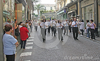 Sorrento Italy  Editorial Stock Photo