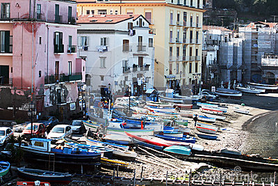 Sorrento old port Editorial Photography