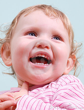 Sorriso da criança