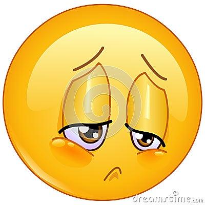 Free Sorrow Emoticon Stock Photo - 73043520