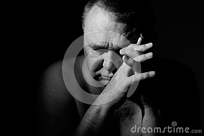 Sorrow mature man
