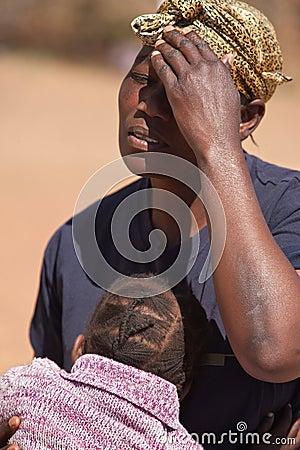 Free Sorrow Mother Royalty Free Stock Photo - 10634055