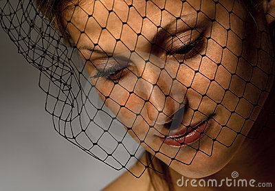 Sorrowful widow