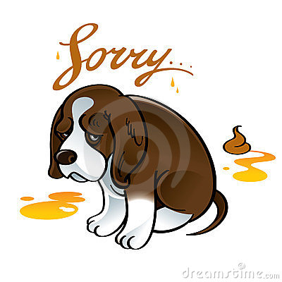Sorry Sad Puppy Dog Stock Photo - Image: 23730450