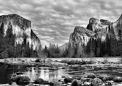 Sosta del Yosemite, California