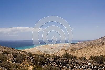 Sotavento Beach (Fuerteventura, Spain)
