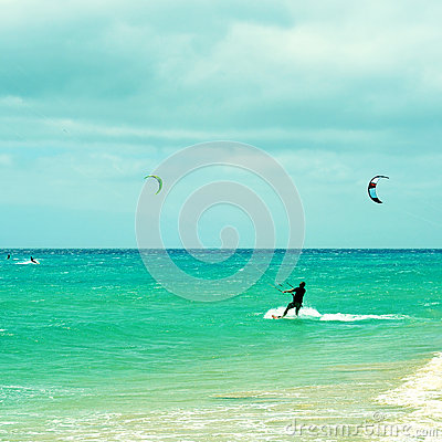 Free Sotavento Beach In Fuerteventura, Canary Islands, Spain Royalty Free Stock Photos - 32805188