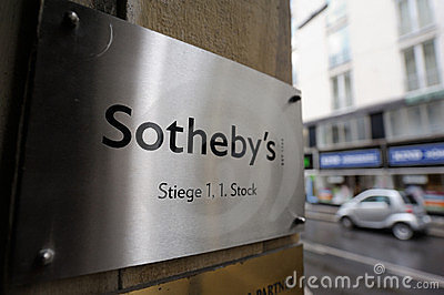 Sotheby s logo Editorial Photo